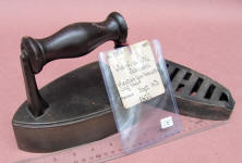 1855 Cleveland & Johnson Patent Model for Sad Iron Heater