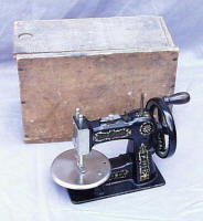 Stitchwell / National Sewing Machine Co. TSM / Toy Sewing Machine Marked Duquesne