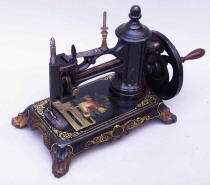 c.1870 Antique Pawfoot Sewing Machine