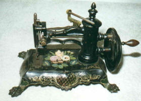 c. 1870 Antique Paw Foot Sewing Machine