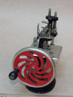 Singer Red Wheel Model 20 Toy Sewing Machine